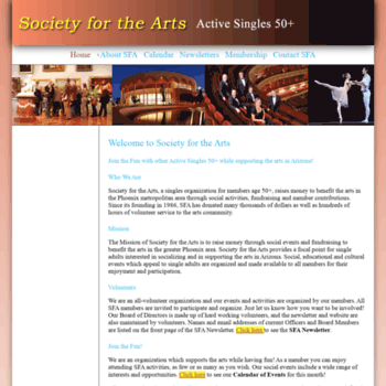 Societyforthearts.org thumbnail