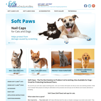 Softclaws Com At Wi Softclaws Com Nail Caps For Cats And Dogs
