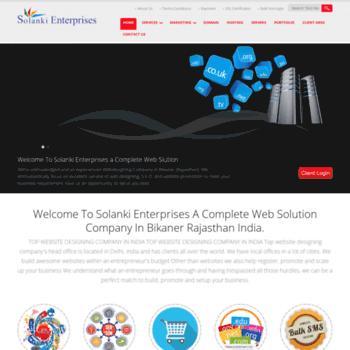 Solanki-enterprises.com thumbnail