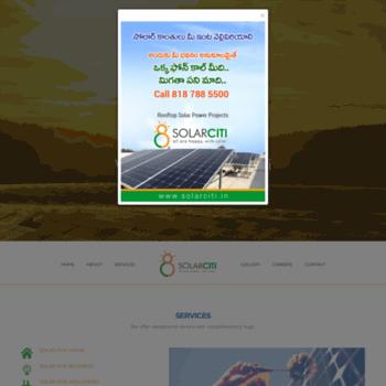 Solarciti.in thumbnail
