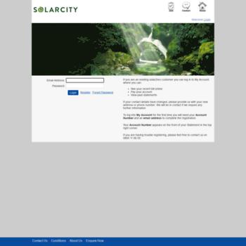 solarcity saberonline co nz at Website Informer  Login
