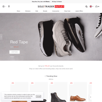 Discount Shoes, Trainers, Boots & Sandals at Soletrader Outlet