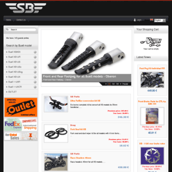 solobuell com at WI  Buell Parts and aftermarket accessories