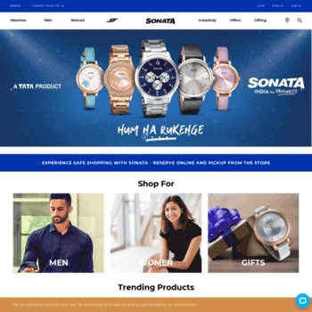Sonatawatches.in thumbnail
