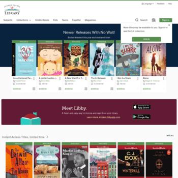 Sonoma.libraryreserve.com thumbnail