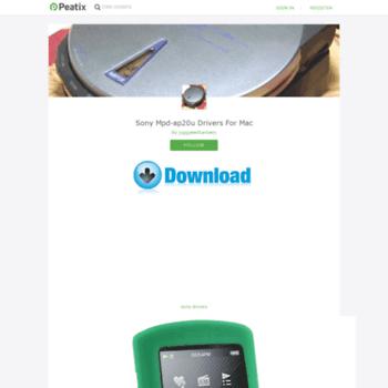 Веб сайт sony-mpdap20u-drivers-for-mac-7.peatix.com