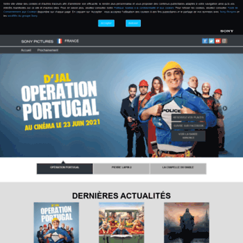 Sonypictures.fr thumbnail