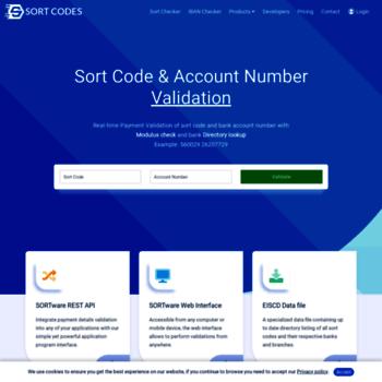 sortcodes co uk at WI  SortCodes co uk - Sort Code & Account