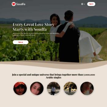 soudfa.com at WI. Meet Arab & Muslim Singles - Soudfa