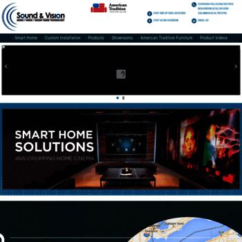 soundandvisionohio com at WI  Welcome to - Sound & Vision Audio