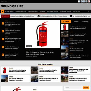 Soundoflife.net thumbnail