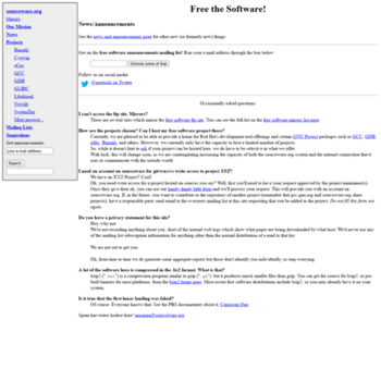 Sourceware.org thumbnail