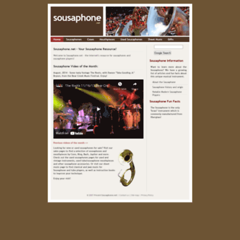 Sousaphone.net thumbnail