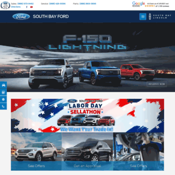 southbayford com at WI  South Bay Ford | Rated 4 6 Out of 5