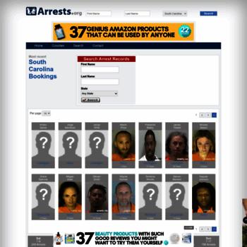 Southcarolina.arrests.org thumbnail