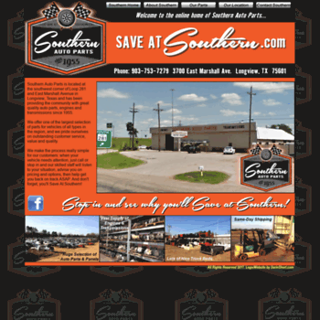 Southern Auto Parts >> Southernautopart Com At Wi Welcome To Saveatsouthern Com