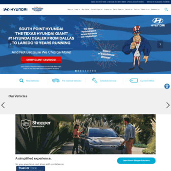 Southpointhyundai Com At Wi New And Used Hyundai Dealer