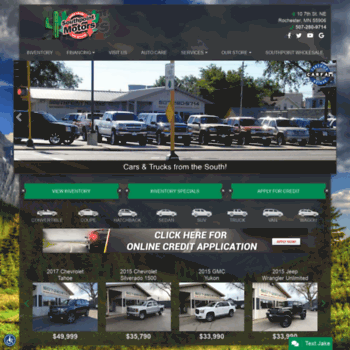 Car Dealerships In Rochester Mn >> Southpointmotors Com At Wi Used Cars Rochester Mn Used