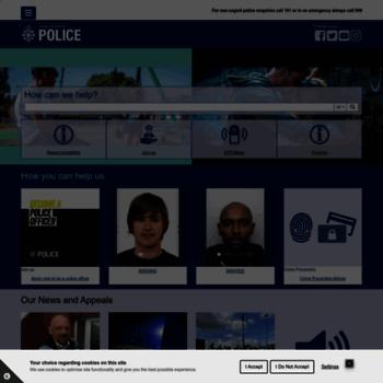 Southyorks.police.uk thumbnail