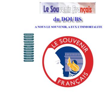 Souvenir-francais-doubs.fr thumbnail