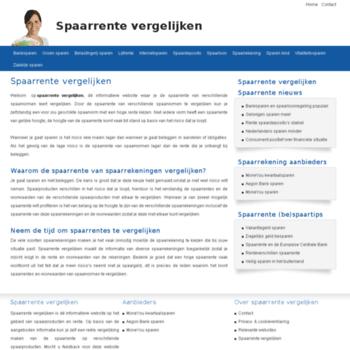 Spaarrente-vergelijken.nl thumbnail