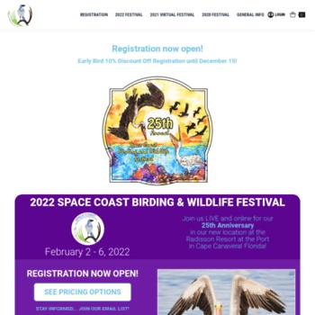 Spacecoastbirdingandwildlifefestival.org thumbnail