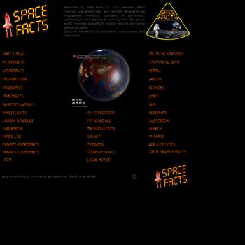 Spacefacts.de thumbnail