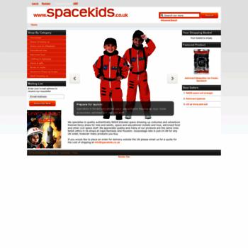 Spacekids.co.uk thumbnail