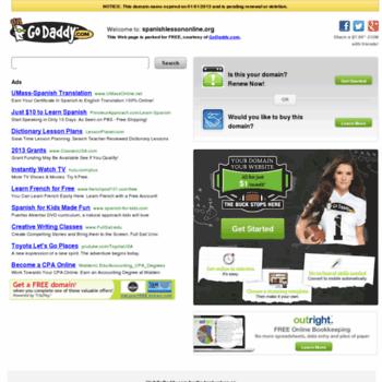 Spanishlessononline.org thumbnail