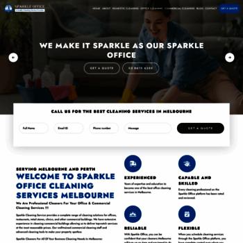 Sparkleoffice.com.au thumbnail