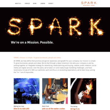 sparksi com at WI  Spark Strategic Ideas, Charlotte, NC Design and