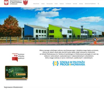 Spchotomow.edu.pl thumbnail