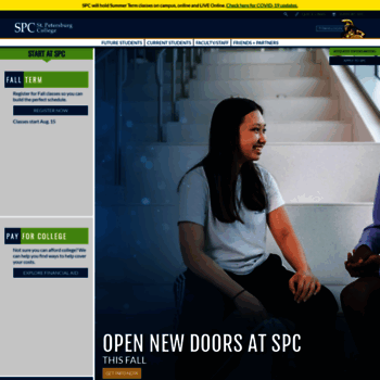 spcollege edu at WI  Home Page || St  Petersburg College