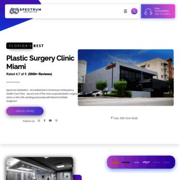 spectrum-aesthetics com at WI  Spectrum Aesthetics : Leading