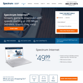 spectrumspecial com at WI  Spectrum Deals In My Area| Find the best
