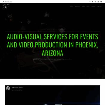 Spectrumvideoandfilm.com thumbnail