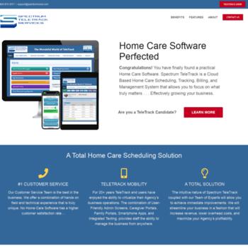 Spectrumvoice Com At Wi Spectrum Teletrack Services Scheduling