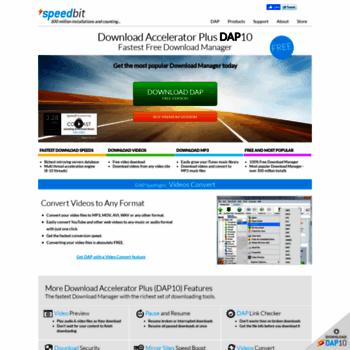 Speedbit. Com at wi. Free download manager & video downloader dap.