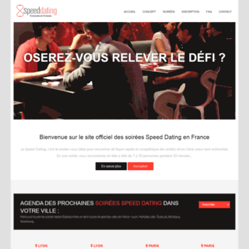 soiree speed dating a lyon