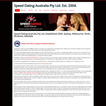 Speed dating i Melbourne Australia