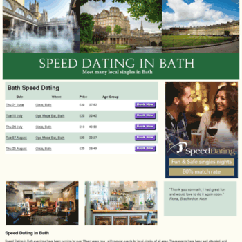 Bath speed dating