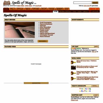 Spellsofmagic.com thumbnail