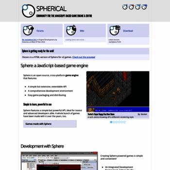 Spheredev.org thumbnail