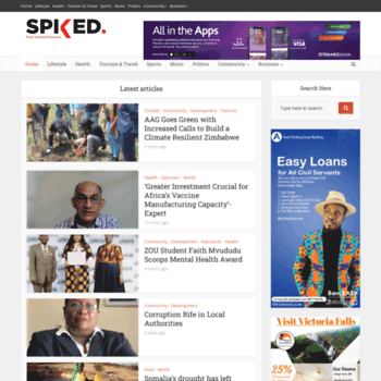 Spiked.co.zw thumbnail