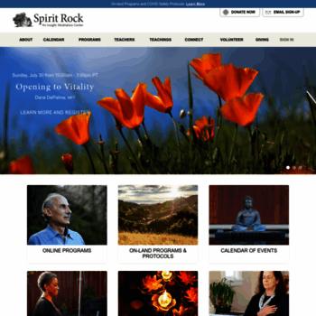 Spiritrock.org thumbnail