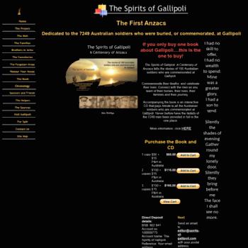 Spirits-of-gallipoli.com thumbnail