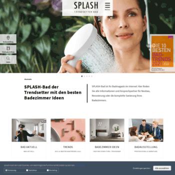Splash-bad.de thumbnail