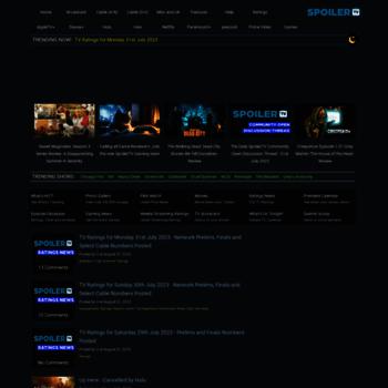 spoilertv com at WI  Spoiler TV | The TV Spoilers, Ratings