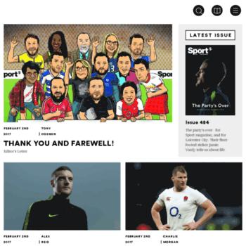 Sport-magazine.co.uk thumbnail