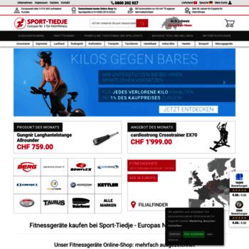 Sport-tiedje.ch thumbnail
